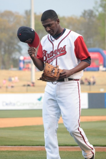 Photo credit: Gwinnett Braves 2011Julio Teheran Gwinnett Braves 2011.